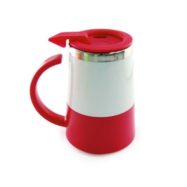 Two Tone Double Wall Stainless Steel Mug Household Products Drinkwares UMG1302Red[1]
